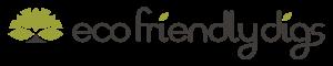 Eco Friendly Digs Horizontal Logo