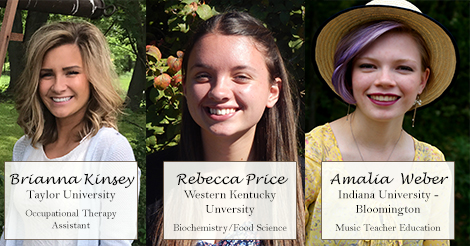 2017 DutchCrafters Scholarship Winners