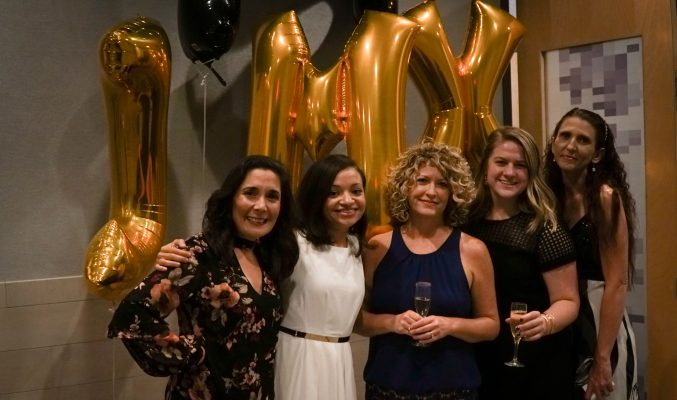 JMX Brands Events Committee (from Left to Right): Beth, Milca (chair), Linse, Mary, and Jennifer