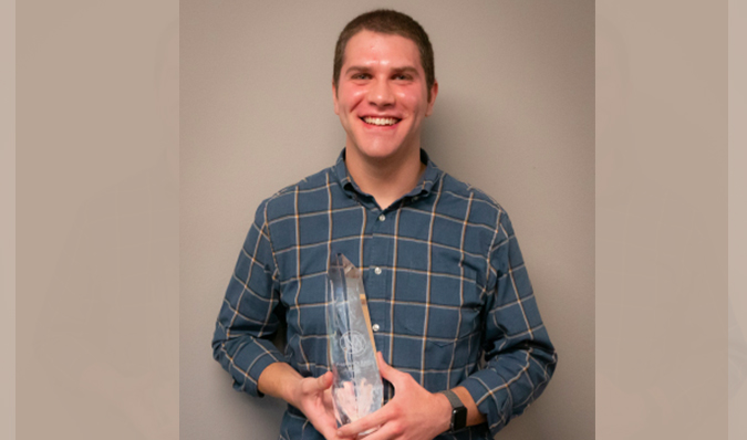 Ross Wiemken 2019 Presidents Award Photo